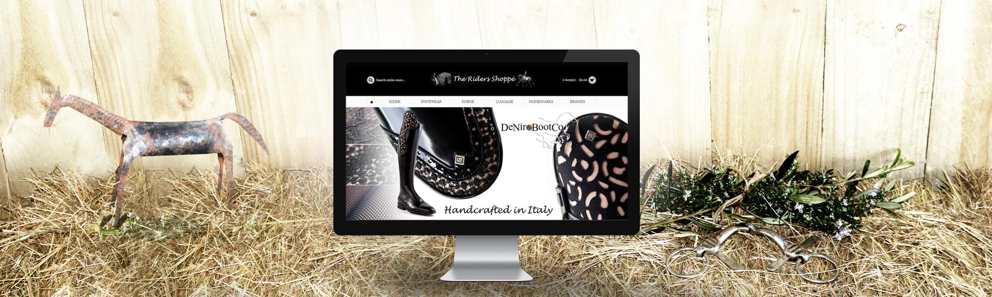 Equestrian Website Design - Rural Website Design